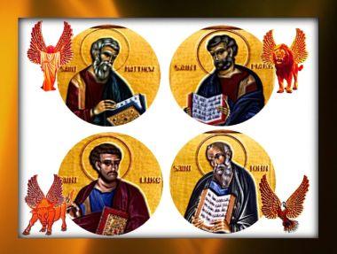 Four Evangelist Symbols